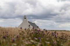 Grog Eglwys Υ εκκλησιών Mwnt στοκ εικόνα