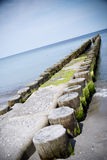 Groin baltic sea Stock Image