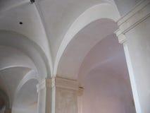 Groin Ceiling Construction. Barrel roll, groin ceiling construction for residential construction Stock Photo