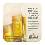 Grolsch啤酒席子 库存图片