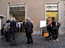 Grom-Eiscreme lizenzfreie stockfotografie