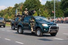 GROM - Unità polacche di lotta al terrorismo dell'elite Fotografia Stock