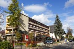 Gromada旅馆在扎科帕内,波兰 免版税库存图片