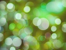 Gromadzący się jaskrawa zielona miękka część zamazujący zielone światła abstrakcjonistyczni - zielona miękka część zamazywał ziel obraz stock