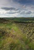 gromadzki England krajobrazu szczyt uk Zdjęcie Stock
