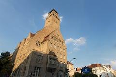 Gromadzki townhall Berlin neukoeln w Germany obrazy stock