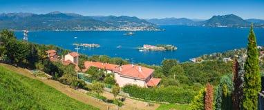 gromadzki włoski jezioro Zdjęcia Stock