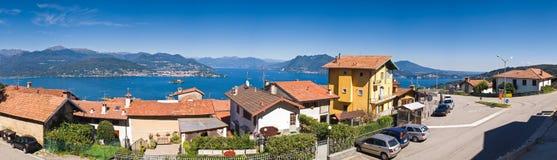 gromadzki włoski jezioro Zdjęcie Royalty Free