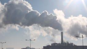 Gromadzkiego ogrzewania elektrownia - gorąca kontrpara w zimnym powietrzu zbiory