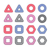 Grommets and Eyelets Royalty Free Stock Image