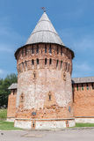 Gromovaya tower. One of the surviving towers of the Smolensk Kremlin royalty free stock photo