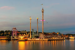 Grona Lund amusement park Stock Image