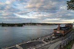 Grona Lund auf der Insel von Djurgarden, Stockholm, Schweden Lizenzfreies Stockfoto