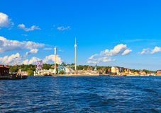 Grona Lund, Stockholm Stock Photo