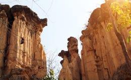 Grond yanon berg stock afbeeldingen
