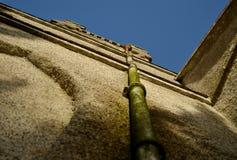 Grondaia della chiesa Immagine Stock