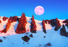 Grondel - rotsreserve Stock Afbeeldingen