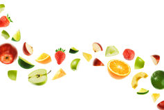 Grondement de fruit Images libres de droits