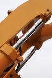 Grondement de machine de construction. Photo stock