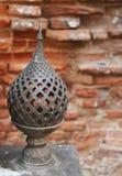 Gronden van Phra Narai Rachanivej - beroemd paleis in Lopburi, Tha Stock Fotografie