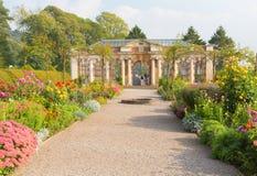 Gronden van Tyntesfield-Huis dichtbij het Victoriaanse herenhuis van Bristol Somerset England het UK royalty-vrije stock afbeelding