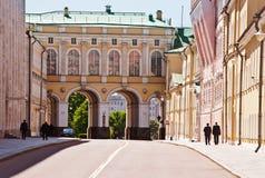 Grondgebied van het Kremlin van Moskou Royalty-vrije Stock Afbeeldingen