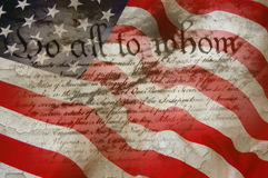 Grondwet stock foto