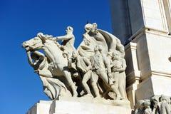 1812 grondwet, Monument aan de Hof van Cadiz, Andalusia, Spanje Stock Afbeelding