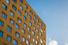Groninga, Holanda, el 27 de noviembre de 2016: Edificio del estudiante Imágenes de archivo libres de regalías
