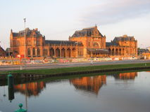 Groningen central station. A picture of the Groningen central station Stock Photography