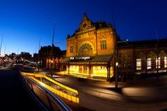 Groningen centrali stacja Zdjęcia Royalty Free