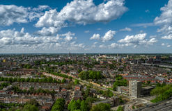 Groningen city center skyline Royalty Free Stock Photos