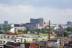Groningen city stock photo