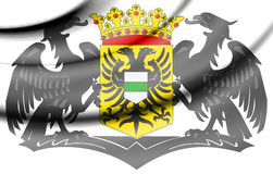 Groningen Coat of Arms, Netherlands. Royalty Free Stock Photo