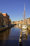 Groningen harbour Stock Photography
