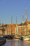 Groningen harbour Royalty Free Stock Photo