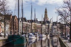 Groningen Hoge dera Aa Obrazy Royalty Free