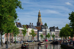 Groningen, the Netherlands. Royalty Free Stock Photography