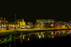 Groningen at night Stock Photo