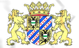 Groningen Province Coat of Arms, Netherlands. Royalty Free Stock Images