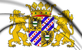Groningen Province Coat of Arms, Netherlands. Stock Photo