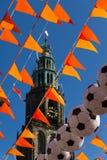Groningen tijdens Wereldbeker 2014 Royalty-vrije Stock Fotografie