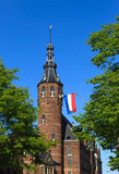 Groningen tower Royalty Free Stock Images