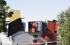 Groninger博物馆,荷兰 免版税图库摄影