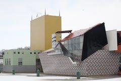 groningermuseumNederländerna Royaltyfri Foto