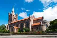 Gronland Kirche in Oslo Lizenzfreies Stockfoto