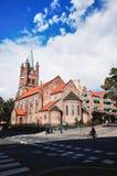 Gronland-Kirche, Oslo, NORWEGEN lizenzfreie stockbilder