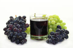gronowy sok Obrazy Royalty Free