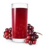 gronowy sok Zdjęcie Royalty Free