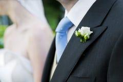 Groom и невеста совместно ювелирные изделия cravat пар кристаллические связывают венчание Стоковые Изображения RF